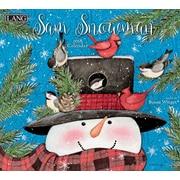 LANG Sam Snowman 2018 Wall Calendar (18991001939)