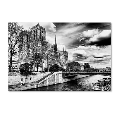 Trademark Fine Art Philippe Hugonnard 'Notre Dame Cathedral Paris II' 12