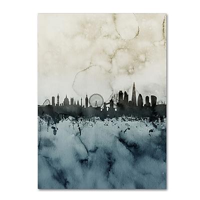 Trademark Fine Art Michael Tompsett 'London Skyline Tall 3' 14