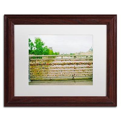 Trademark Fine Art Ariane Moshayedi 'Paris Locks Love 2' 11