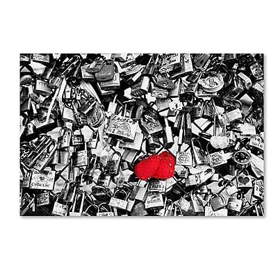 Trademark Fine Art Philippe Hugonnard 'Love Locks' 12