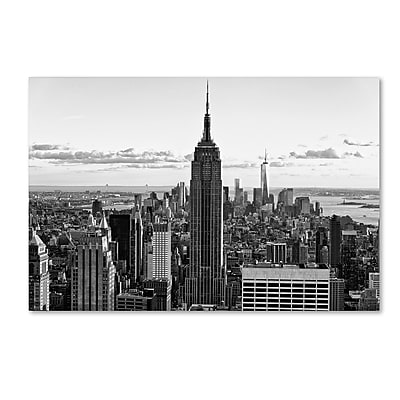"Trademark Fine Art Philippe Hugonnard 'New York Cityscape' 12"" x 19"" Canvas Stretched (190836116201)"