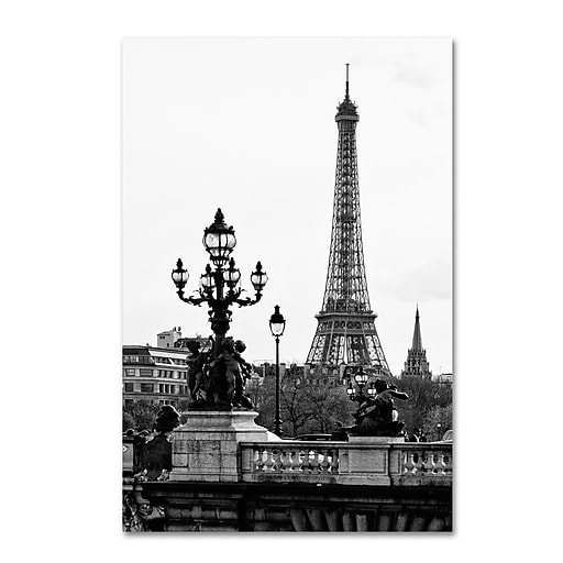 "Trademark Fine Art Philippe Hugonnard 'Paris Romantic' 12"" x 19"" Canvas Stretched (190836049974)"