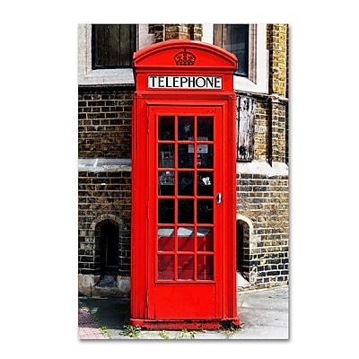 Trademark Fine Art Philippe Hugonnard 'English Phone Booth London' 12