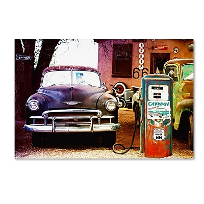 Trademark Fine Art Philippe Hugonnard 'Gas Station Route 66' 12