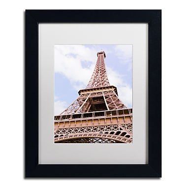 Trademark Fine Art Ariane Moshayedi 'Eiffel Tower from Below' 11