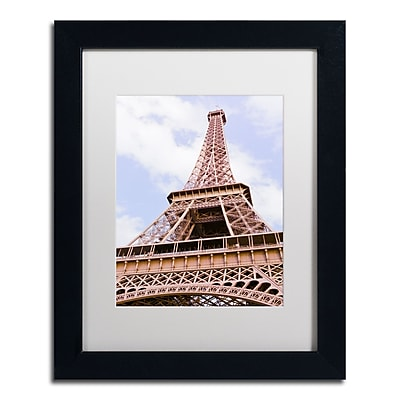 Trademark Fine Art Ariane Moshayedi 'Eiffel Tower from Below' 11