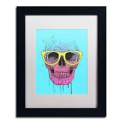 Trademark Fine Art Balazs Solti 'Pop Art Skull With Glasses' 11