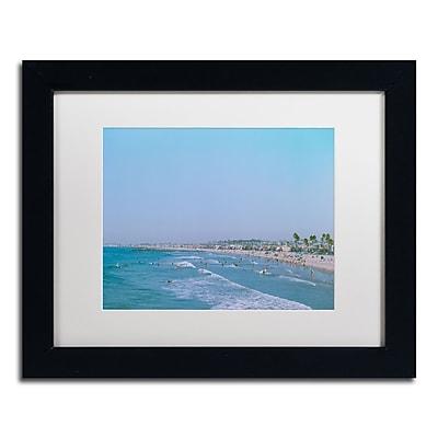 Trademark Fine Art Ariane Moshayedi 'Newport Beach Summer Day' 11