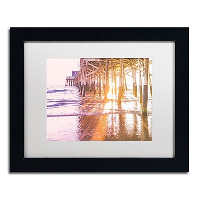 Trademark Fine Art Ariane Moshayedi 'Newport Pier Sunset 2' 11