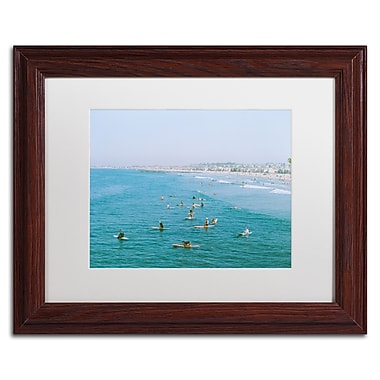Trademark Fine Art Ariane Moshayedi 'Newport Beach Surfers' 11
