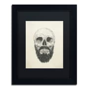 "Trademark Fine Art Balazs Solti 'The Beard Is Not Dead' 11"" x 14"" Matted Framed (190836178599)"