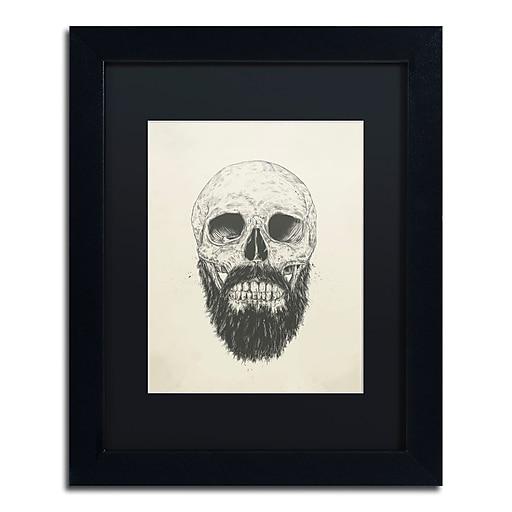 "Trademark Fine Art Balazs Solti 'The Beard Is Not Dead' 11"" x 14"" Matted Framed (190836178599)"