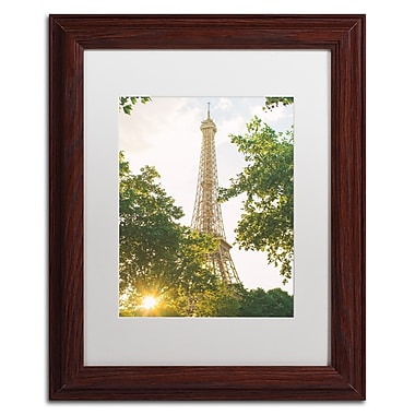 Trademark Fine Art Ariane Moshayedi 'Eiffel Tower Sunset' 11