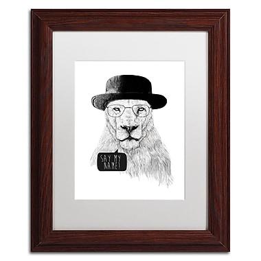Trademark Fine Art Balazs Solti 'Say My Name' 11