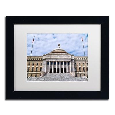 Trademark Fine Art CATeyes 'Capitol of Puerto Rico' 11
