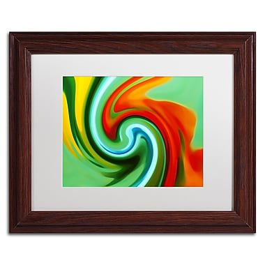 Trademark Fine Art Amy Vangsgard 'Abstract Flower Unfurling 2' 11