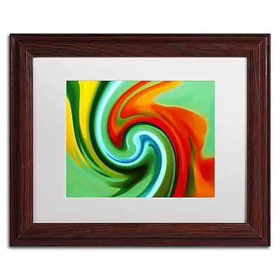 Trademark Fine Art Amy Vangsgard 'Abstract Flower Unfurling 2' 11