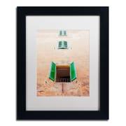 """Trademark Fine Art Ariane Moshayedi '3 Windows' 11"""" x 14"""" Matted Framed (190836262724)"""