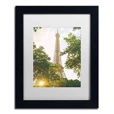 Trademark Fine Art Ariane Moshayedi 'Eiffel Tower Sunset' 11