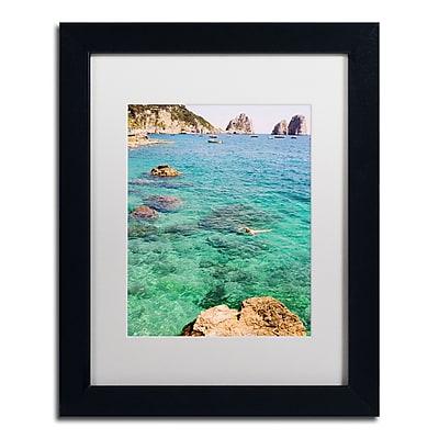 Trademark Fine Art Ariane Moshayedi 'Capri Swimming' 11