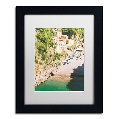 Trademark Fine Art Ariane Moshayedi 'Amalfi Coast Fishing Village' 11