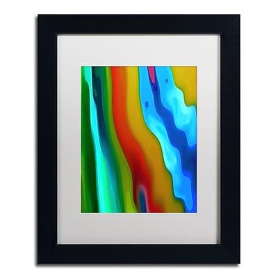 Trademark Fine Art Amy Vangsgard 'River Runs Through Vertical 2' 11
