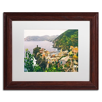 Trademark Fine Art Ariane Moshayedi 'Cinque Terre 4' 11