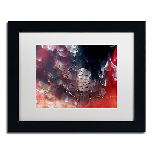 "Trademark Fine Art Beata Czyzowska Young 'Don't Be Afraid' 11"" x 14"" Matted Framed (190836183340)"