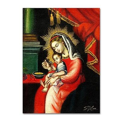 Trademark Fine Art Sergio Cruze 'The Virgin and Son I' 14