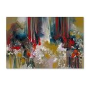 """Trademark Fine Art Andrea 'LeTigre' 12"""" x 19"""" Canvas Stretched (190836010820)"""