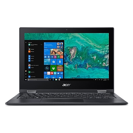 "Acer Spin 1 SP111-33-P88S 11.6"" Touch-Screen Notebook, Intel® Pentium® Silver N5000, 4GB Memory"