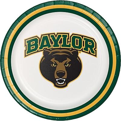 NCAA Baylor University Dessert Plates 8 pk (414352)