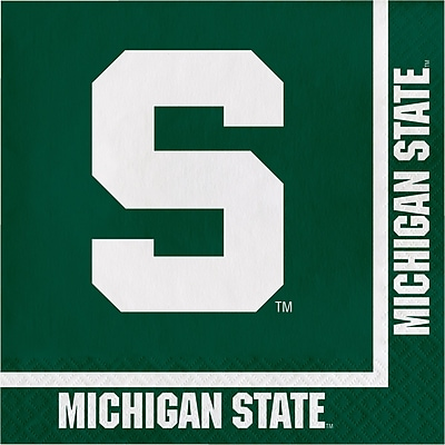 NCAA Michigan State University Napkins 20 pk (664716)