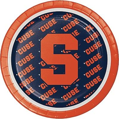 NCAA Syracuse University Dessert Plates 8 pk (318307)