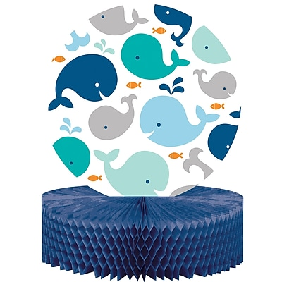 Creative Converting Blue Baby Whale Centerpiece (324423)