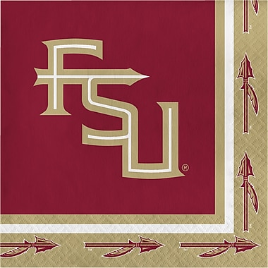 NCAA Florida State University Napkins 20 pk (669833)