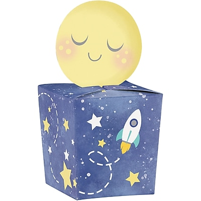 Creative Converting To the Moon and Back Favor Boxes 8 pk (322277)