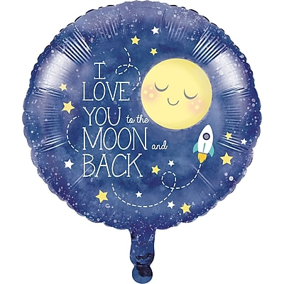Creative Converting To the Moon and Back Mylar Balloon (322271)