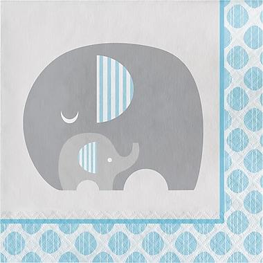 Creative Converting Little Peanut Boy Elephant Napkins 16 pk (316935)