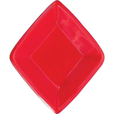 Creative Converting Card Night Mini Diamond Snack Tray (019031)