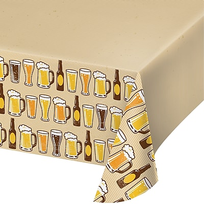 Creative Converting Cheers and Beers Plastic Tablecloth (324453)