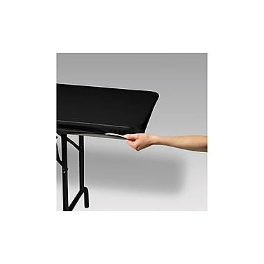Creative Converting Stay Put Tablecover Black, 29