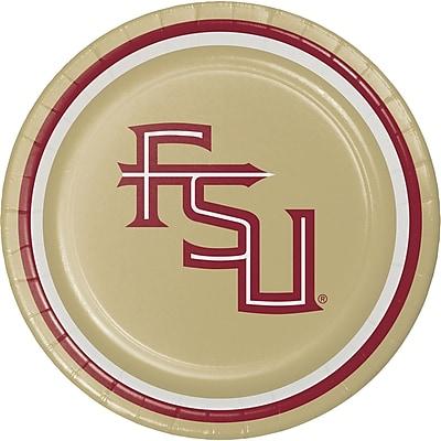 NCAA Florida State University Dessert Plates 8 pk (419833)