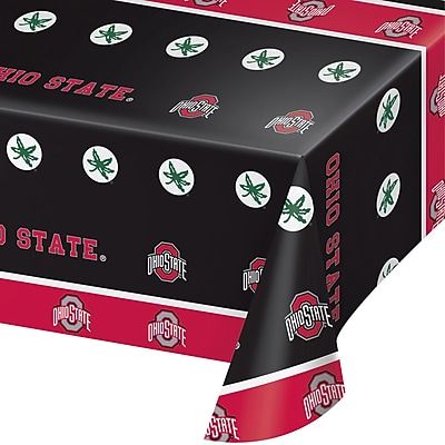 NCAA Ohio State University Plastic Tablecloth (318563)