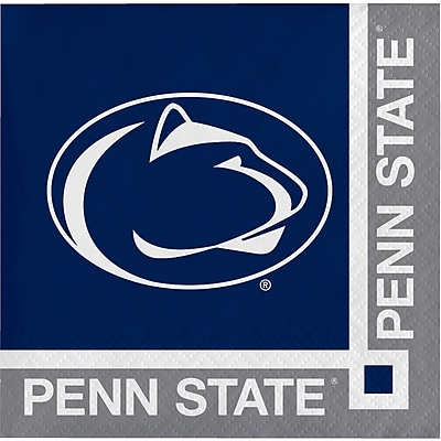 NCAA Pennsylvania State University Beverage Napkins 20 pk (654729)