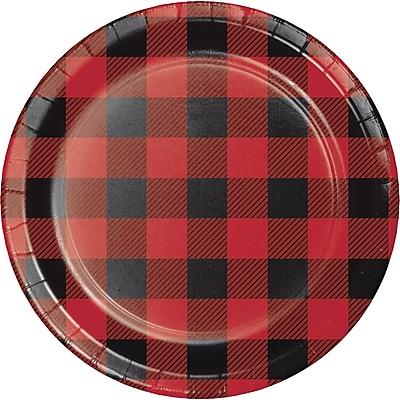 Creative Converting Buffalo Plaid Dessert Plates 8 pk (321824)
