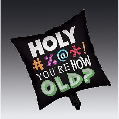 Creative Converting Holy Bleep Mylar Balloon (045014)