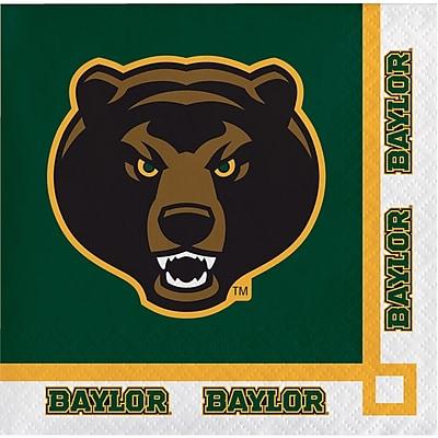 NCAA Baylor University Beverage Napkins 20 pk (654352)
