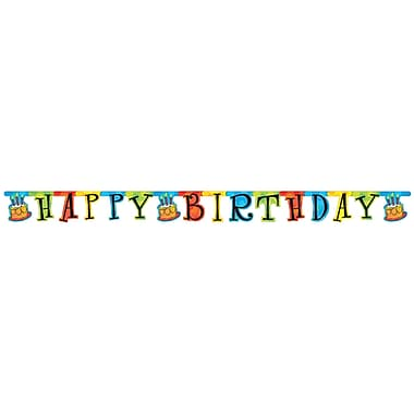 Creative Converting Cake Celebration Party Banner (299123)